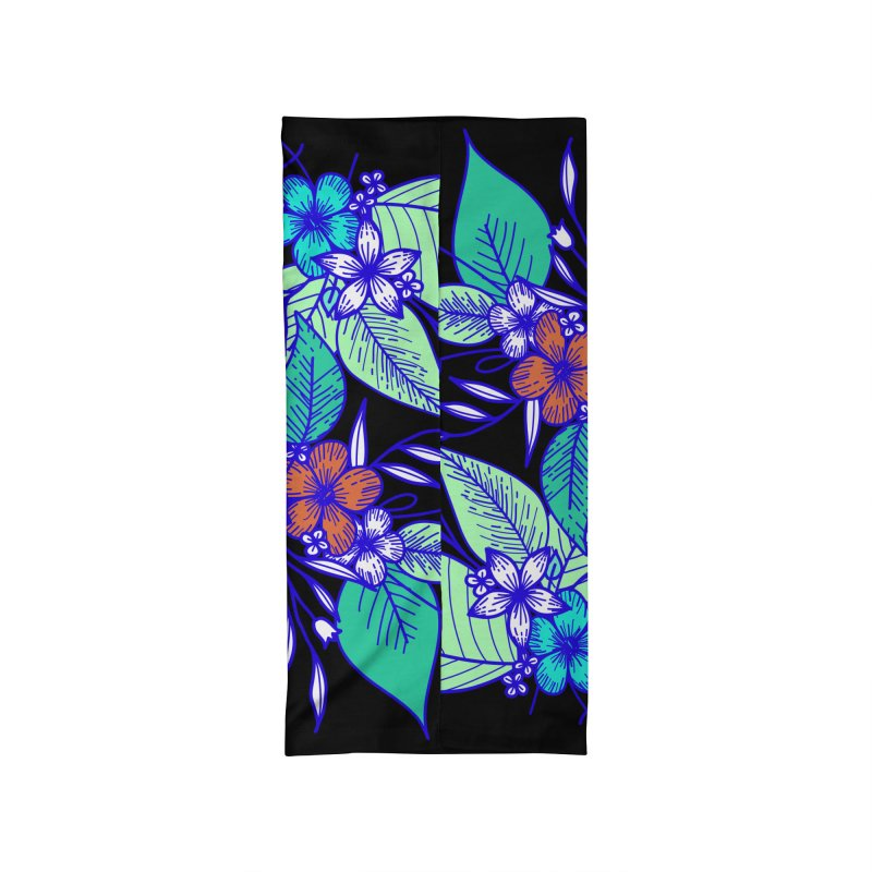 Tropical Flowers Accessories Neck Gaiter by libedlulo