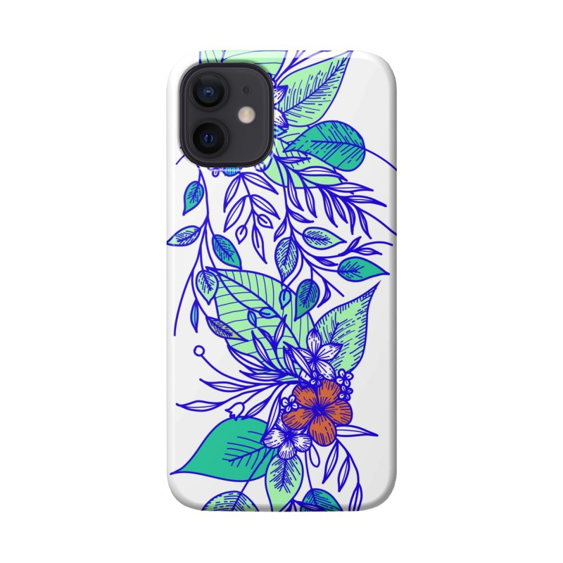 Tropical Flowers Accessories Phone Case by libedlulo