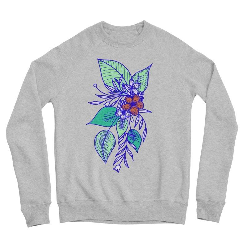 Tropical Flowers Women's Sponge Fleece Sweatshirt by libedlulo