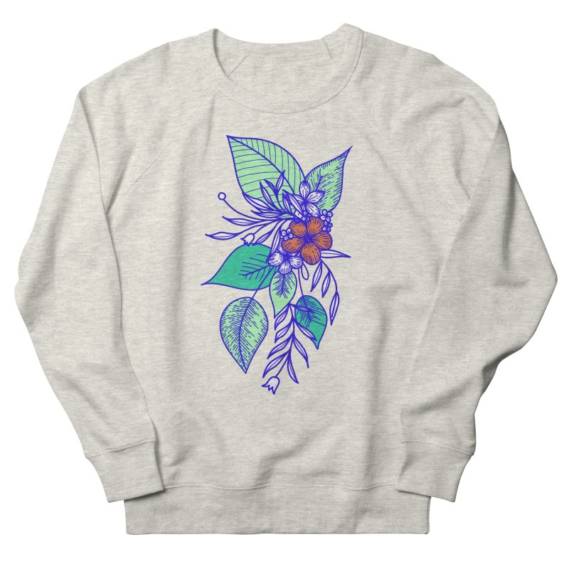 Tropical Flowers Men's Sweatshirt by libedlulo