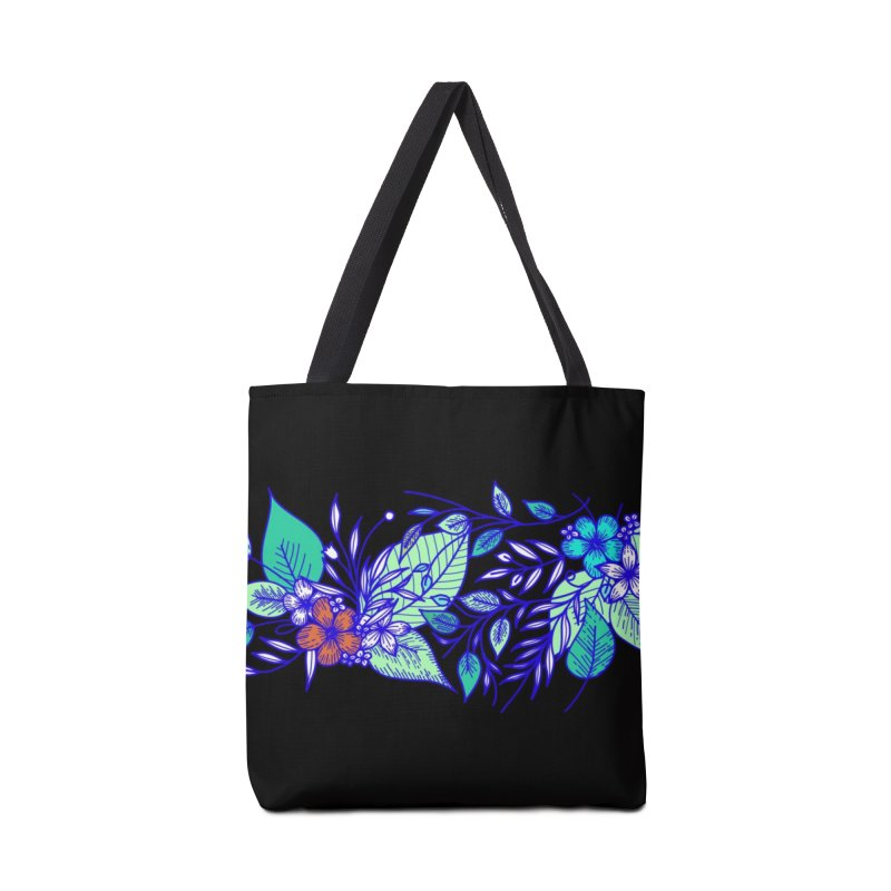 Tropical Flowers Accessories Tote Bag Bag by libedlulo
