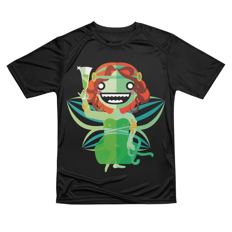 Absinthe Fairy Women's Performance Unisex T-Shirt by libedlulo