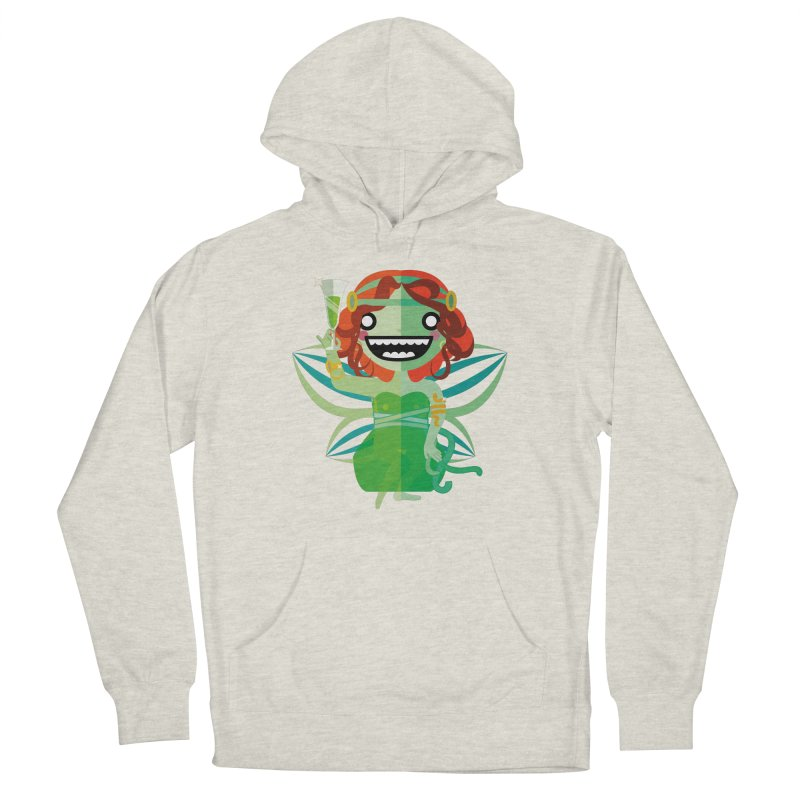Absinthe Fairy Men's French Terry Pullover Hoody by libedlulo