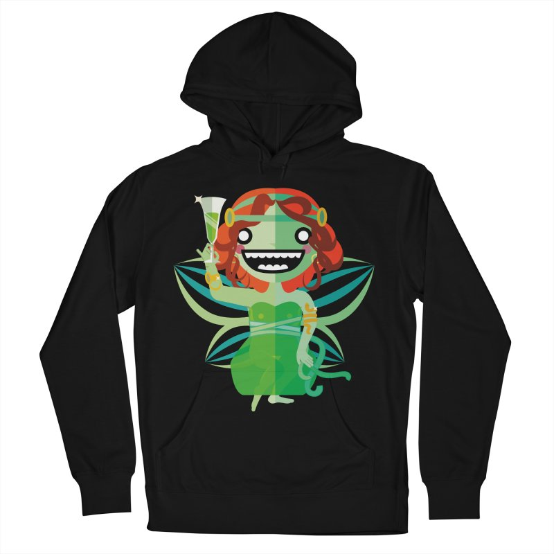 Absinthe Fairy Women's French Terry Pullover Hoody by libedlulo