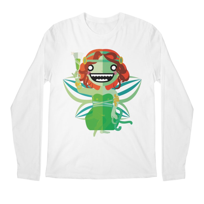 Absinthe Fairy Men's Regular Longsleeve T-Shirt by libedlulo