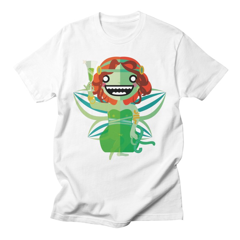 Absinthe Fairy Men's T-Shirt by libedlulo