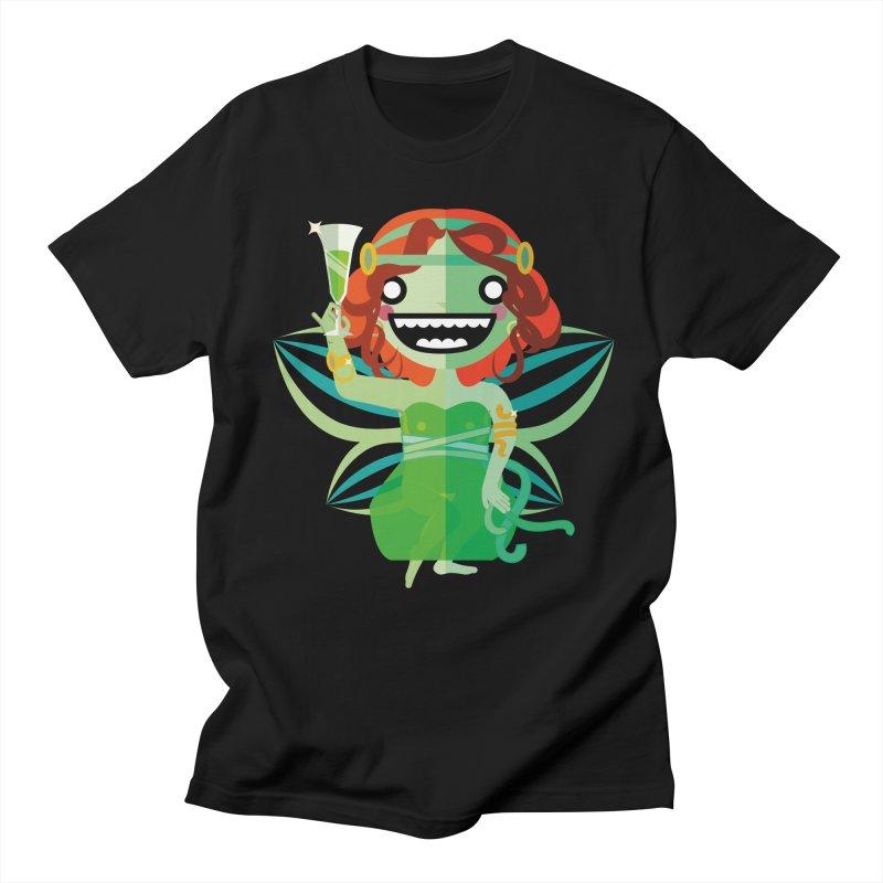 Absinthe Fairy Women's Regular Unisex T-Shirt by libedlulo