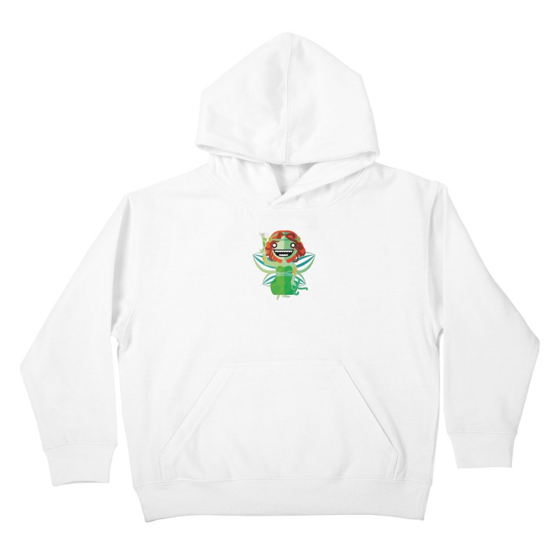 Absinthe Fairy Kids Pullover Hoody by libedlulo