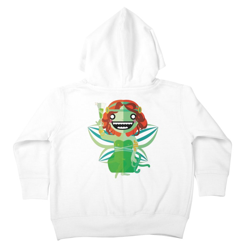 Absinthe Fairy Kids Toddler Zip-Up Hoody by libedlulo