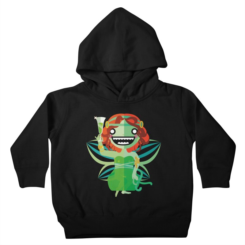 Absinthe Fairy Kids Toddler Pullover Hoody by libedlulo