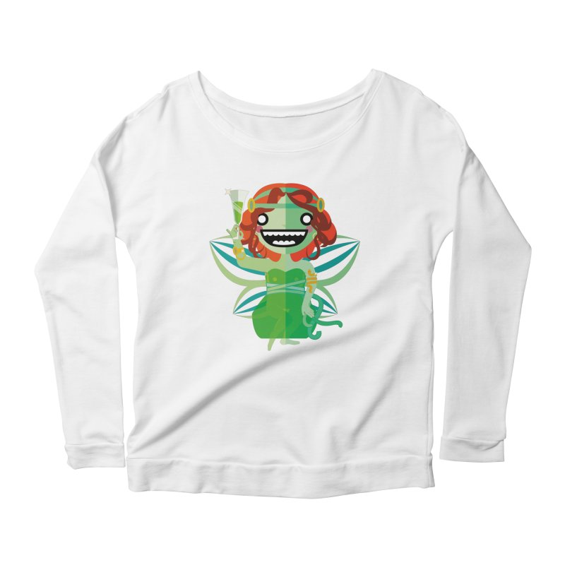 Absinthe Fairy Women's Longsleeve T-Shirt by libedlulo