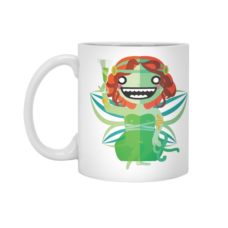 Absinthe Fairy Accessories Standard Mug by libedlulo