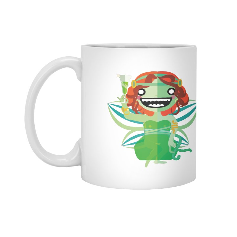 Absinthe Fairy Accessories Mug by libedlulo