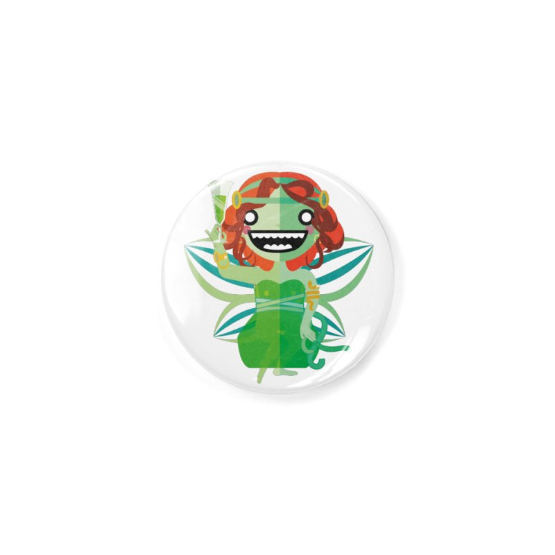 Absinthe Fairy Accessories Button by libedlulo