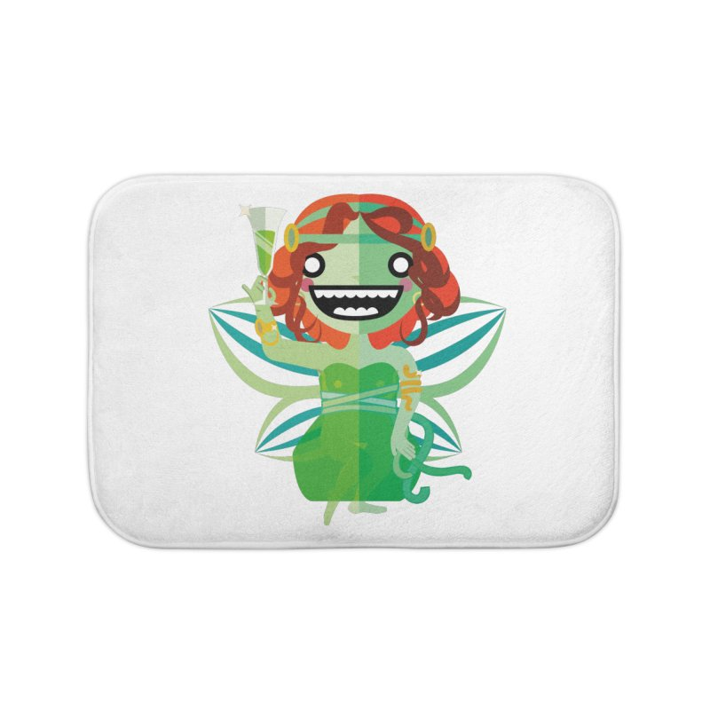 Absinthe Fairy Home Bath Mat by libedlulo