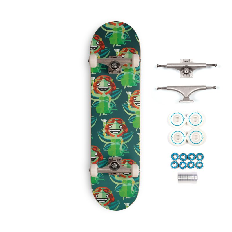 Absinthe Fairy Accessories Skateboard by libedlulo