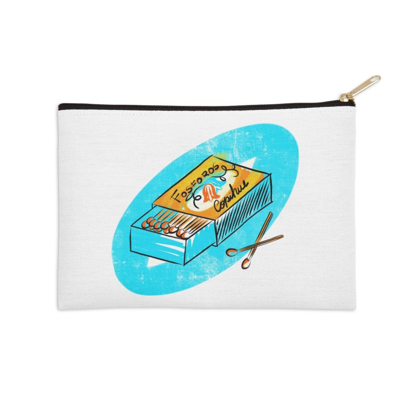 Matches Accessories Zip Pouch by libedlulo
