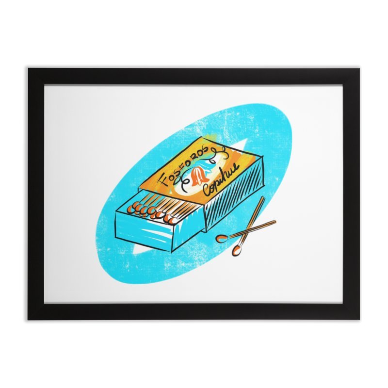 Matches Home Framed Fine Art Print by libedlulo
