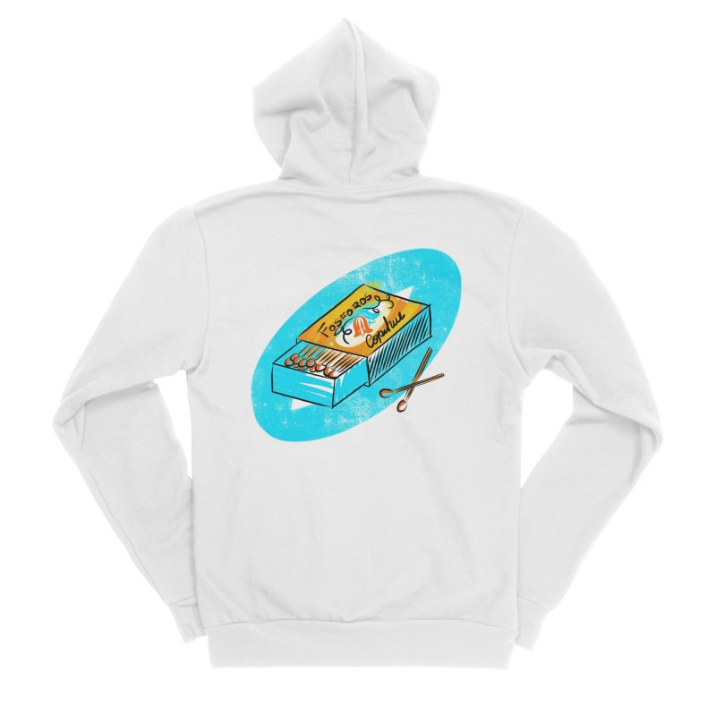 Matches Men's Zip-Up Hoody by libedlulo