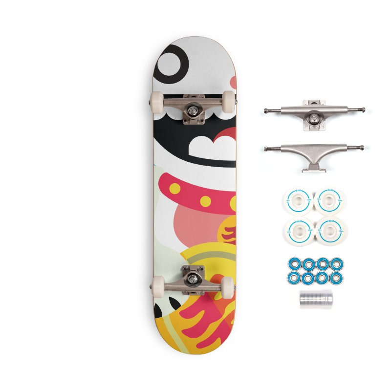 Lucky Cats for you Accessories Complete - Basic Skateboard by libedlulo