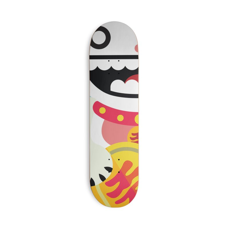 Lucky Cats for you Accessories Deck Only Skateboard by libedlulo