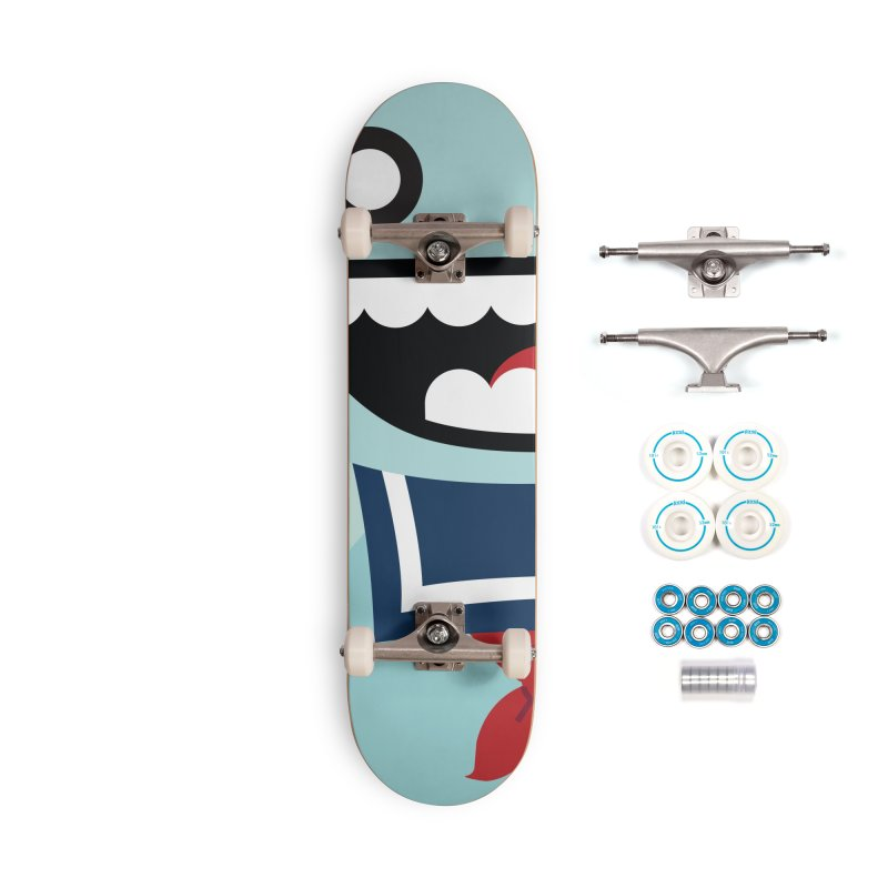 Stay Puft Man Accessories Complete - Basic Skateboard by libedlulo