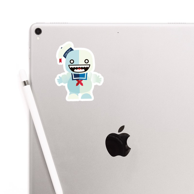 Stay Puft Man Accessories Sticker by libedlulo