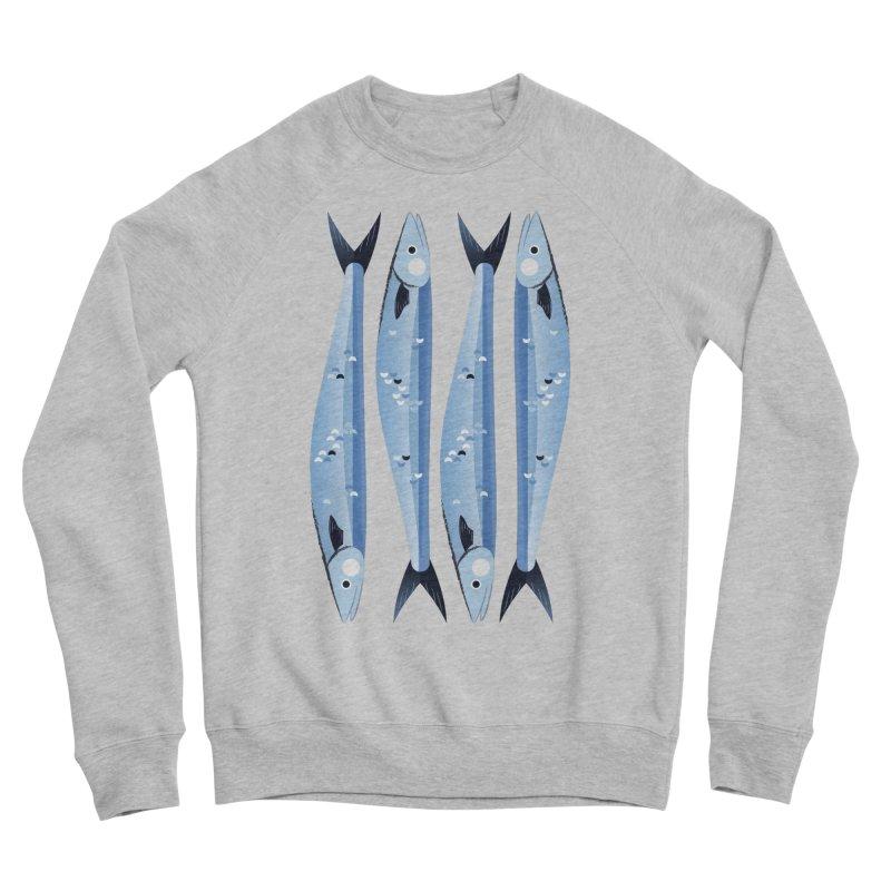 The Fish Women's Sponge Fleece Sweatshirt by libedlulo