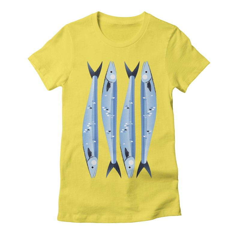 The Fish Women's T-Shirt by libedlulo