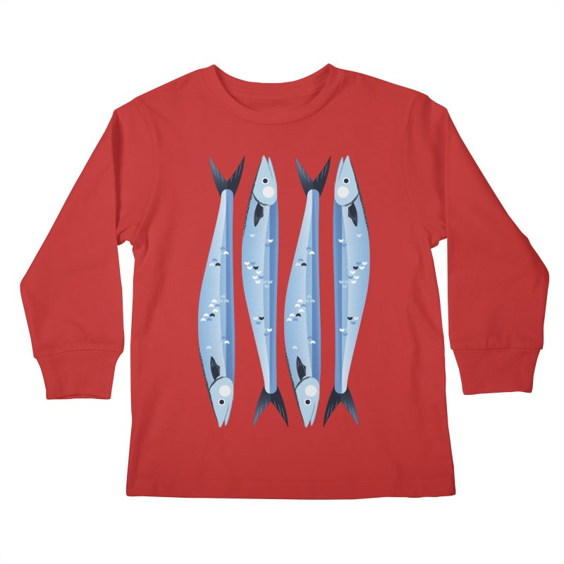 The Fish Kids Longsleeve T-Shirt by libedlulo