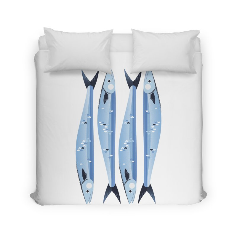 The Fish Home Duvet by libedlulo