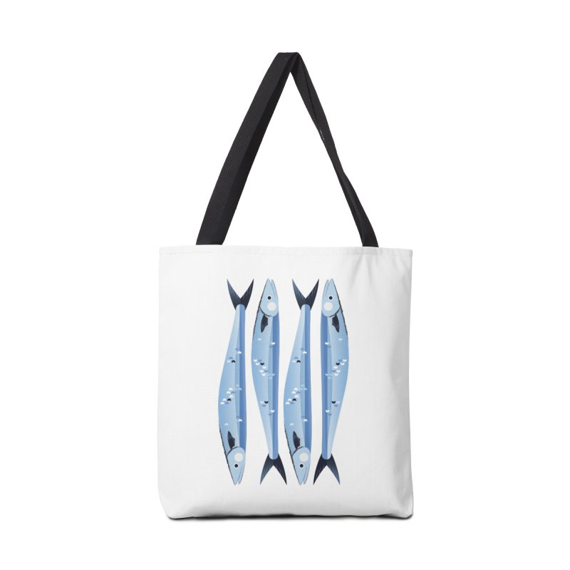 The Fish Accessories Tote Bag Bag by libedlulo