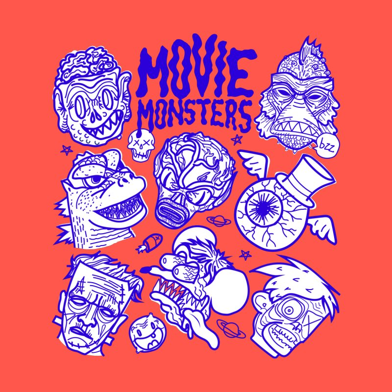 Movie Monsters Women's T-Shirt by libedlulo