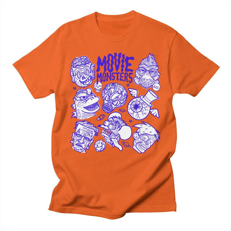 Movie Monsters Men's T-Shirt by libedlulo