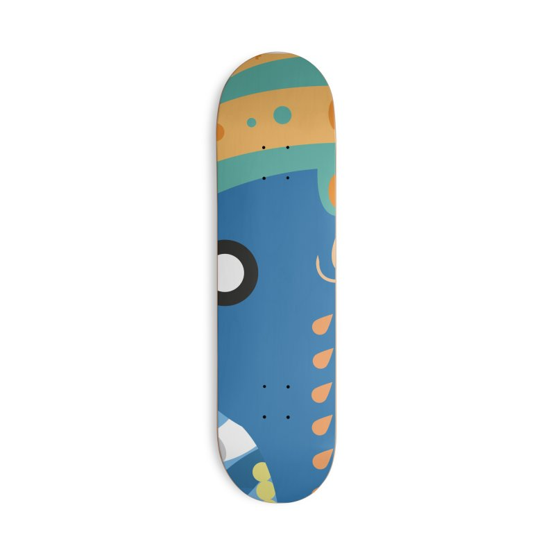 Ganesha Accessories Skateboard by libedlulo