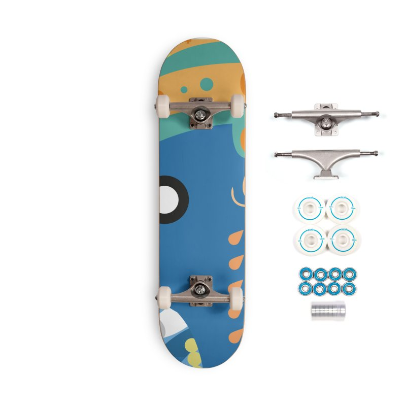 Ganesha Accessories Skateboard by libedlulo