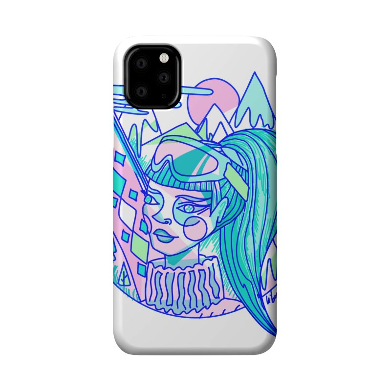 Ski girl Accessories Phone Case by libedlulo