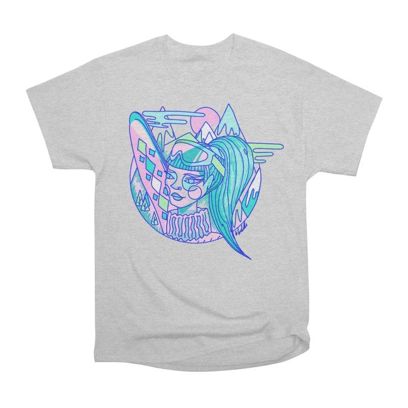 Ski girl Women's Heavyweight Unisex T-Shirt by libedlulo