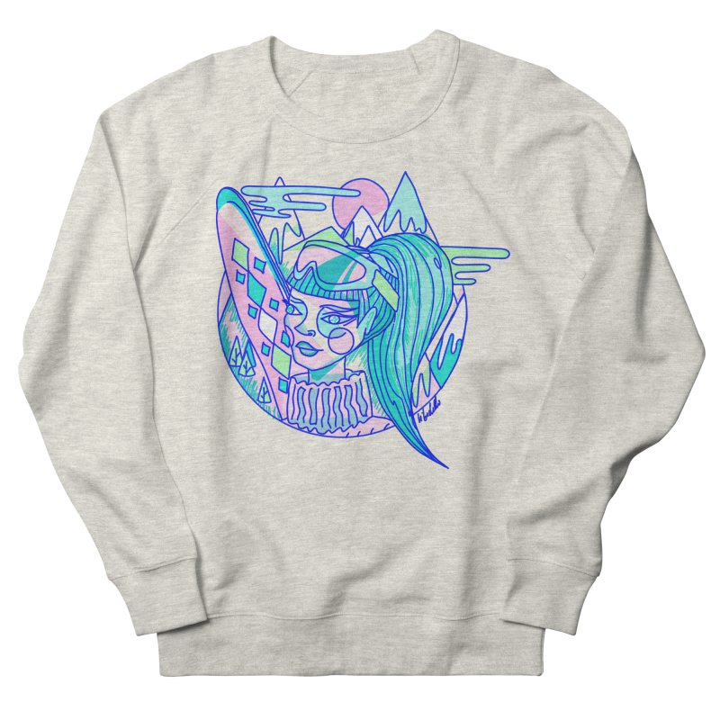 Ski girl Women's Sweatshirt by libedlulo