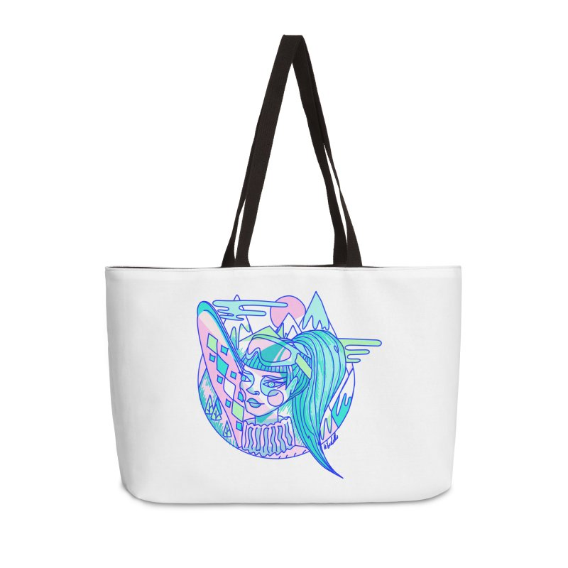 Ski girl Accessories Bag by libedlulo