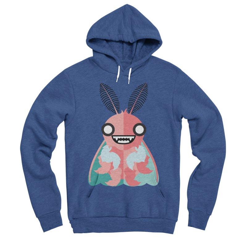 Baby Mothra Men's Sponge Fleece Pullover Hoody by libedlulo