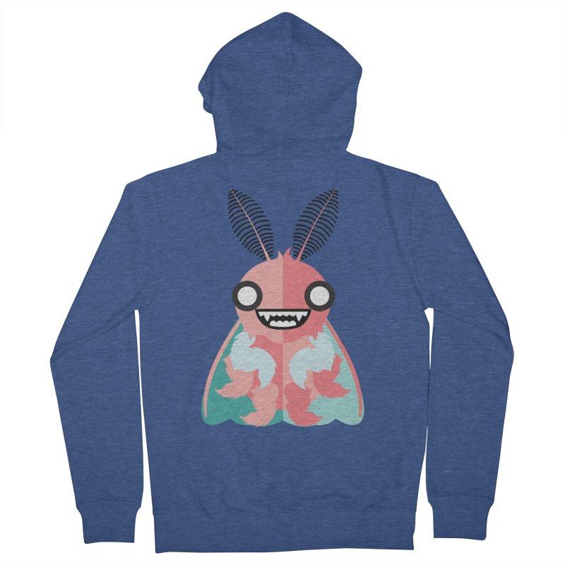 Baby Mothra Women's Zip-Up Hoody by libedlulo