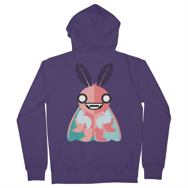 Baby Mothra Women's French Terry Zip-Up Hoody by libedlulo