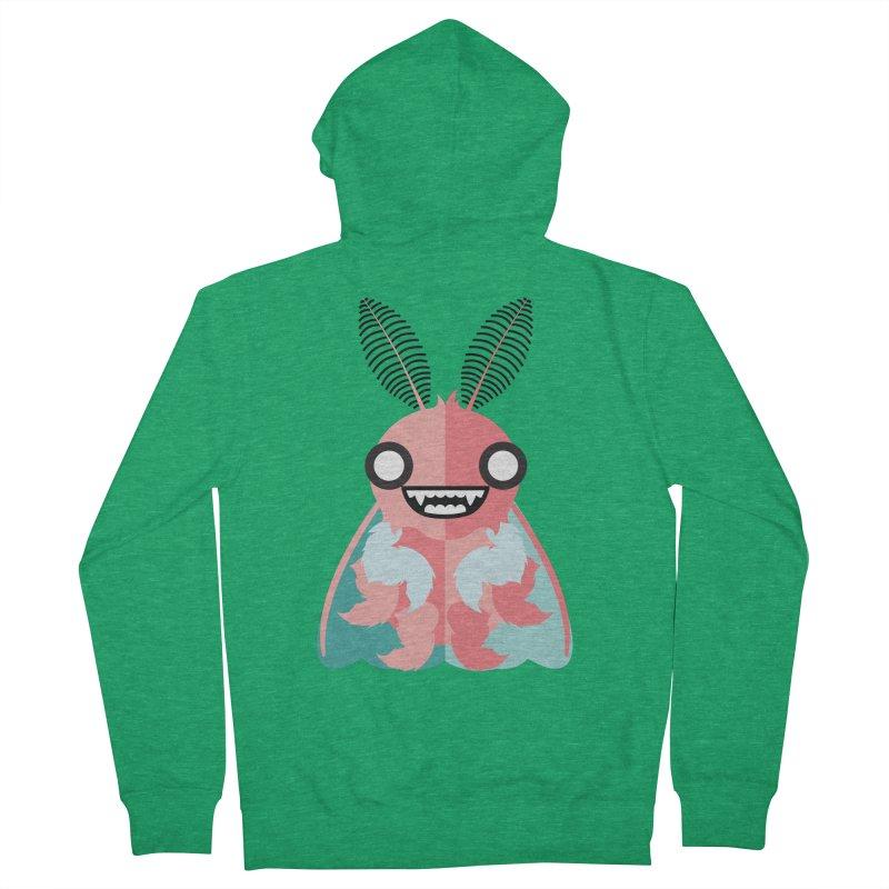 Baby Mothra Men's Zip-Up Hoody by libedlulo