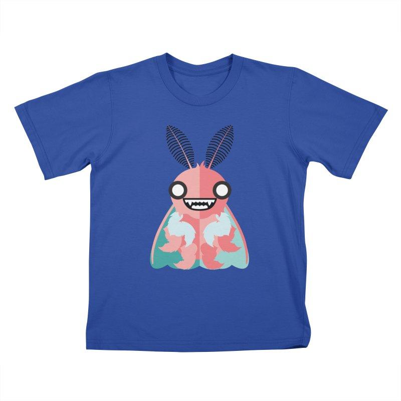 Baby Mothra Kids T-Shirt by libedlulo