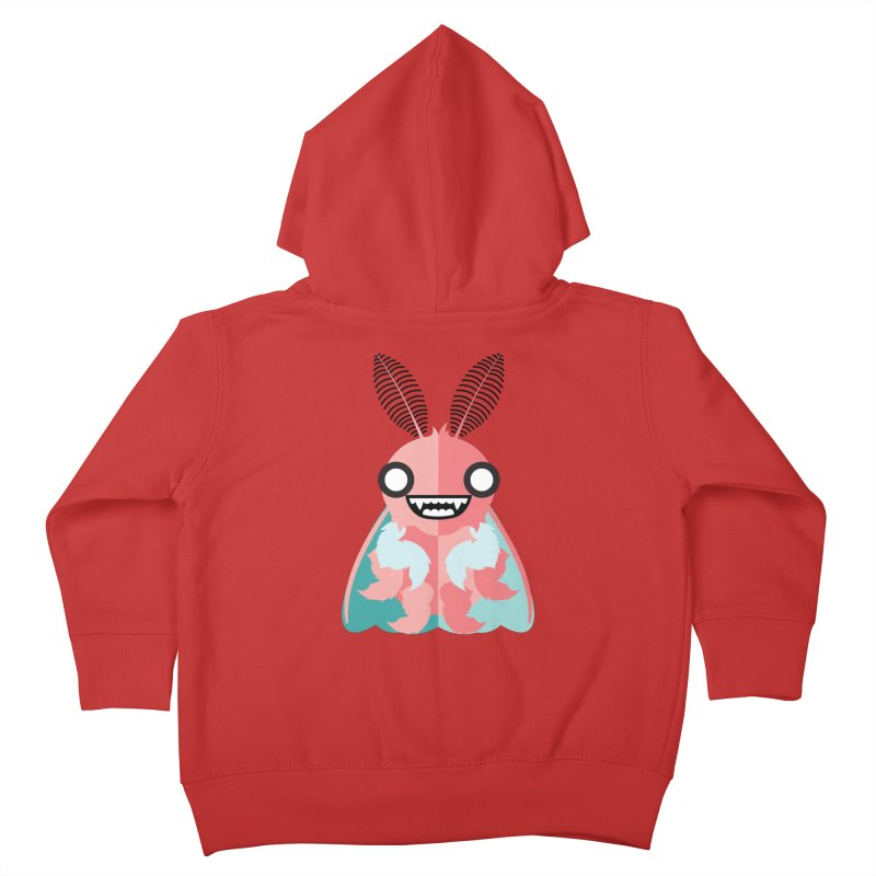 Baby Mothra Kids Toddler Zip-Up Hoody by libedlulo