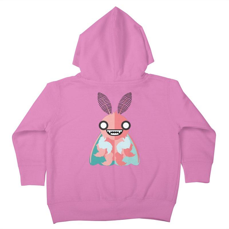 Baby Mothra Kids Toddler Zip-Up Hoody by libedlulo