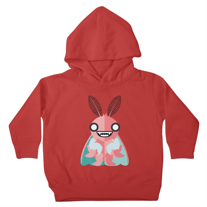 Baby Mothra Kids Toddler Pullover Hoody by libedlulo