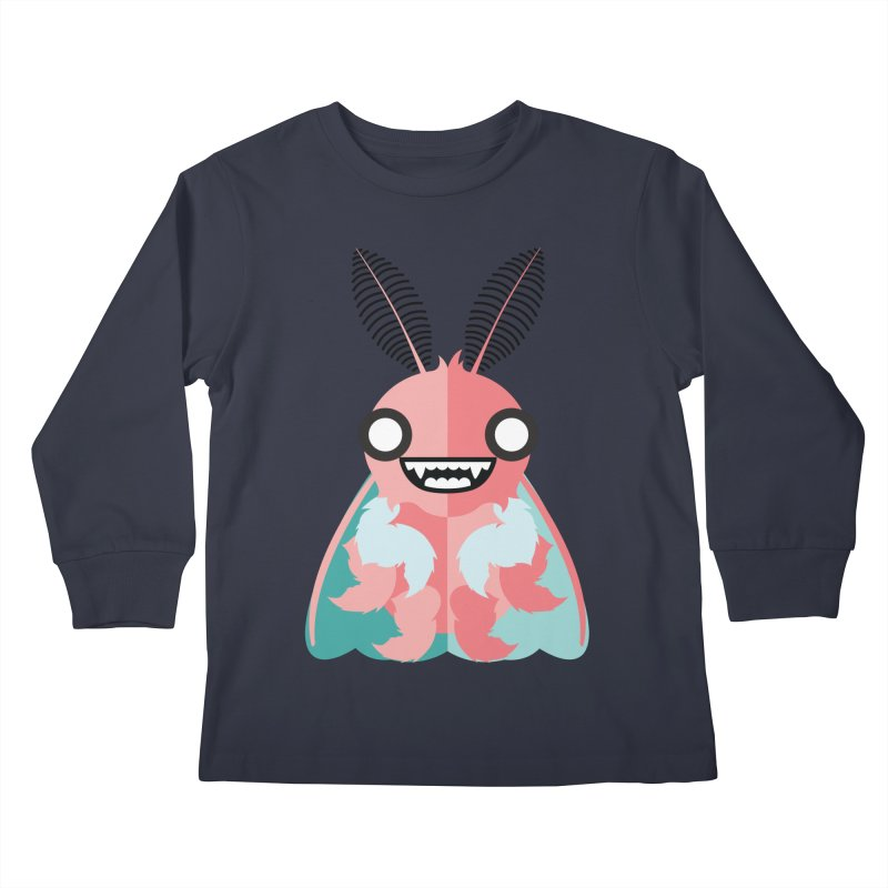 Baby Mothra Kids Longsleeve T-Shirt by libedlulo