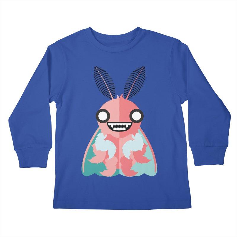 Baby Mothra Kids Longsleeve T-Shirt by libedlulo